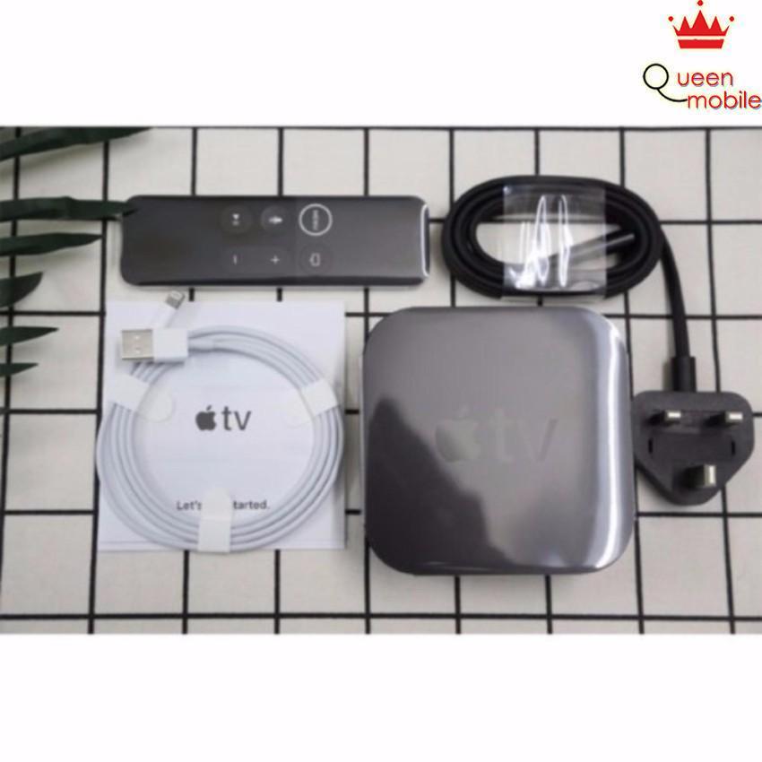 Smart box Apple TV 4K Black 32GB (Đen)