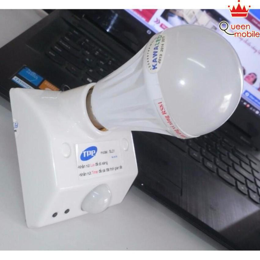 Đui đèn thông minh cảm biến hồng ngoại chuyển động thân nhiệt TPE SL01 (tự bật đèn khi chuyển động)