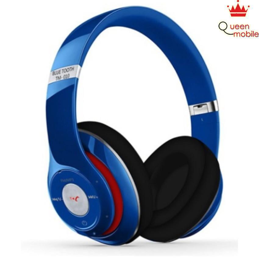Tai nghe chụp tai không dây Bluetooth cao cấp TM010S có khe cắm thẻ nhớ