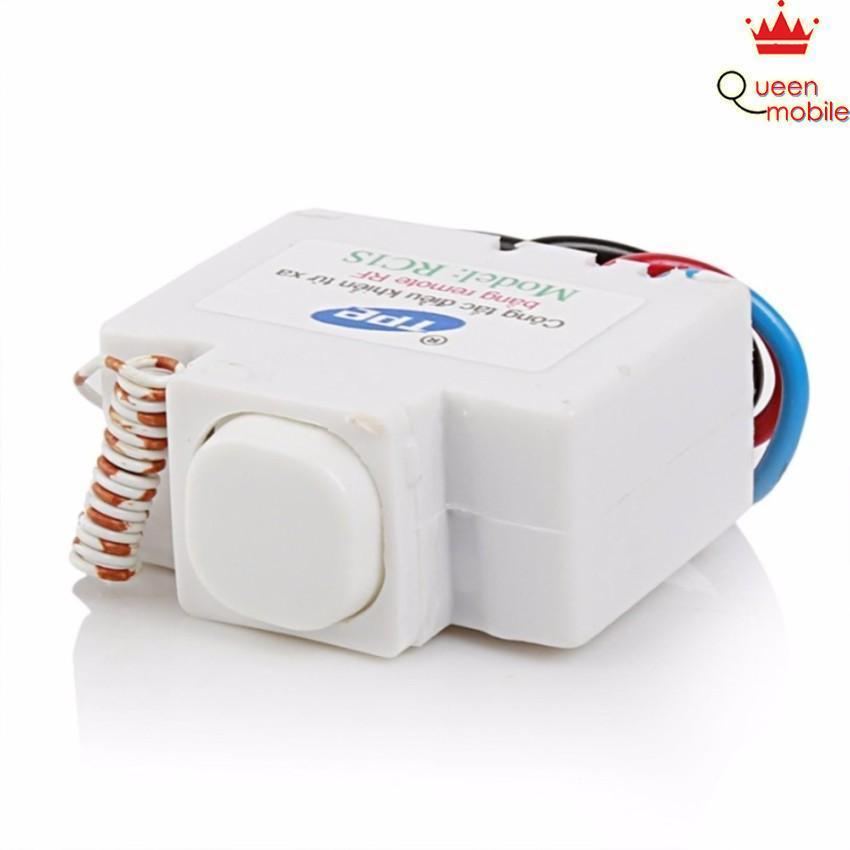 Công tắc điều khiển từ xa bằng điện thoại hoặc remote RF 315Mhz TPE RC1S có hẹn giờ dành cho nhà thông minh